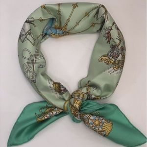 Hermes 100% Silk Scarf 35 Inch Square Carre Voiles